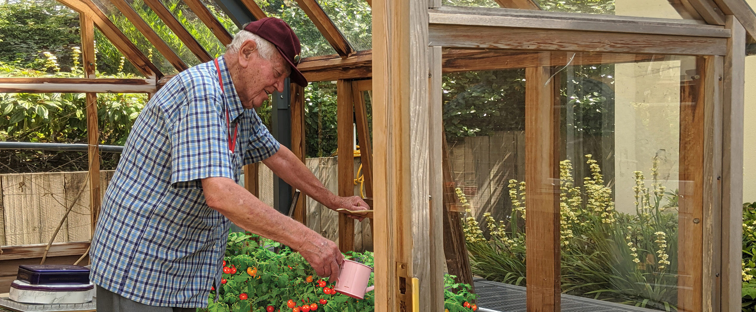 Gardening in Care Home, Burbage, Hinckley