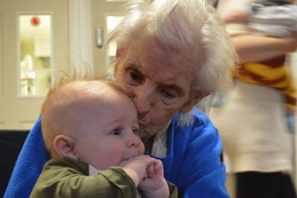 Babies Bring Smiles to Old Vicarage