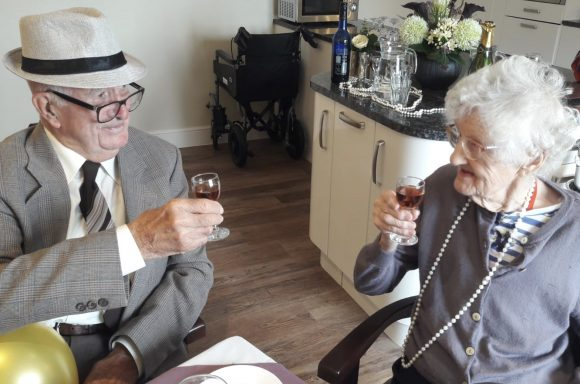 Couples celebrate over 300 years of combined marital bliss at Chetwynd House