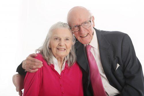 Margot & Derek – the picture of true love!