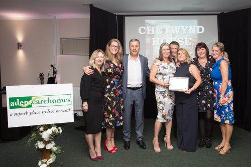 Celebrations Galore at Triple Awards Success at Chetwynd House