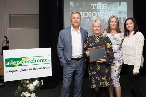 Celebrations Galore at Triple Awards Success at The Knowles Care Home