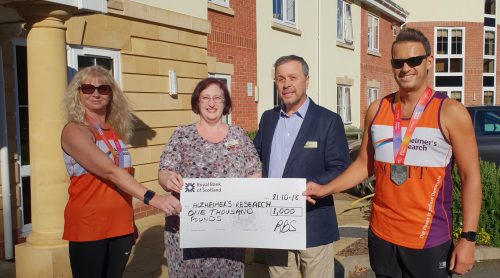 Moat House Donation Helps Couple Double their Target