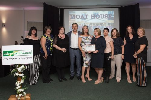Excellence Awards Success for Moat House Care Home