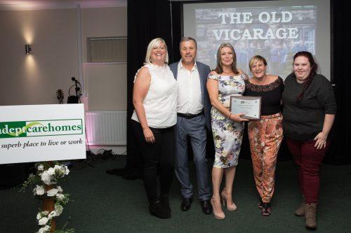 Celebrations Galore at Triple Awards Success at Old Vicarage