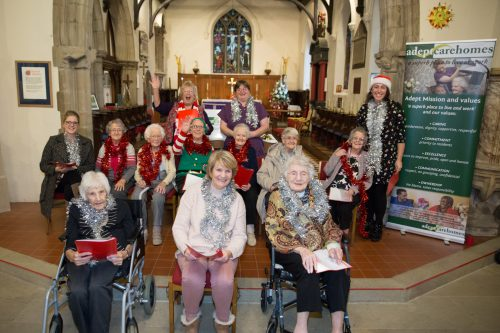Choral Christmas Delight in Care Home Competition