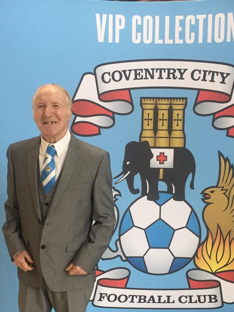Former Coventry City FC Player Peter Returns for Legend's Day