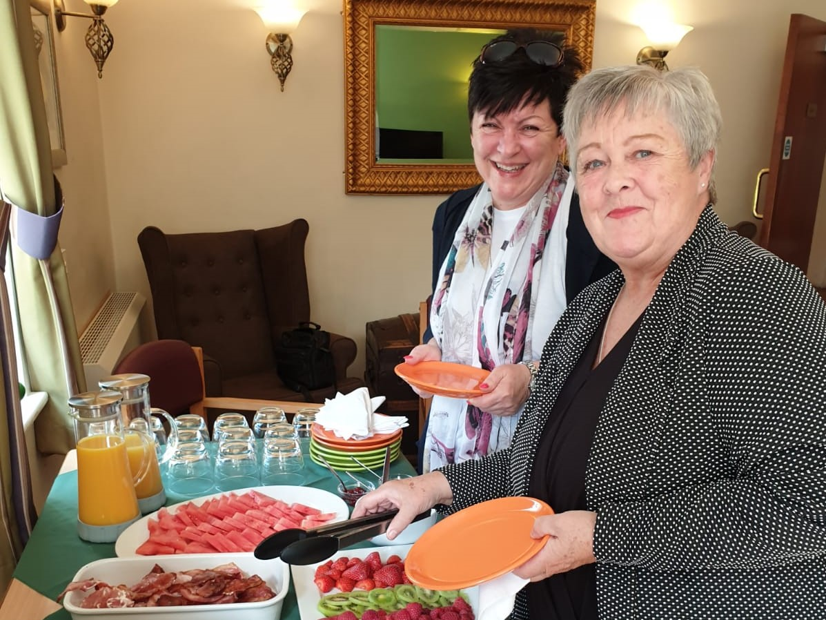 Healthcare networking breakfast held at The Knowles