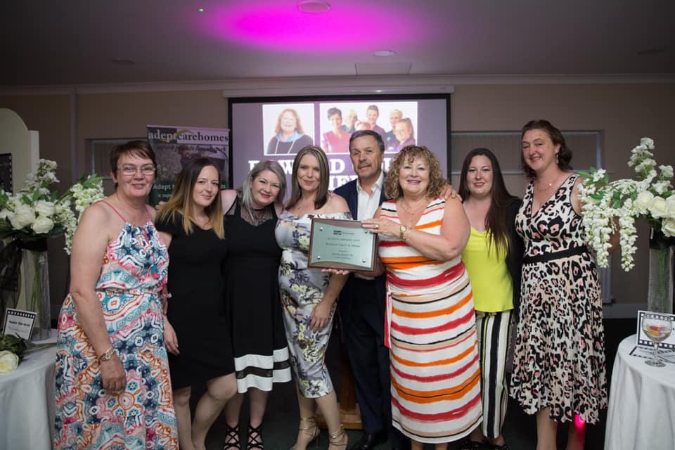 Bowood Court Scoops Awards for Team Commitment & Home Cooking