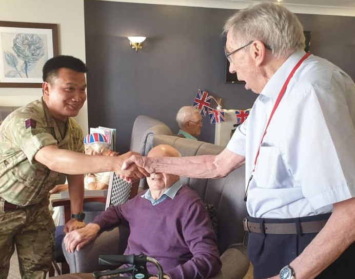 Chetwynd House Residents 'Enlist' New Friends