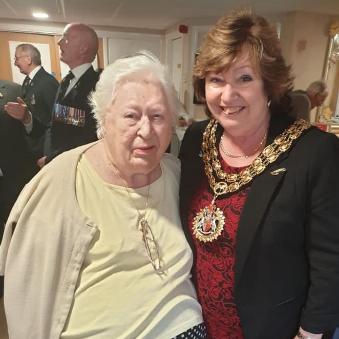 Hazel Welcomes British Legion to Hinckley