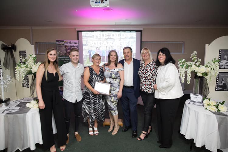 The Old Vicarage Scoops Award for Team Commitment