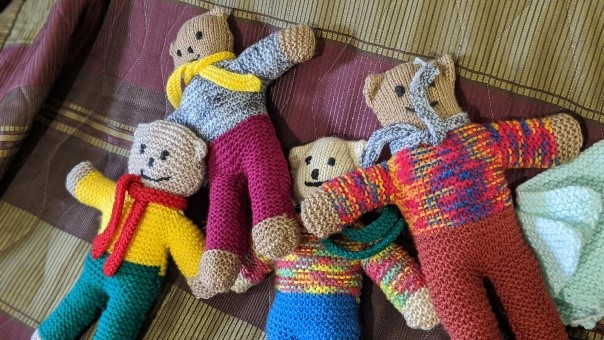 Residents Get Down To The 'Knitty Gritty' For Charities