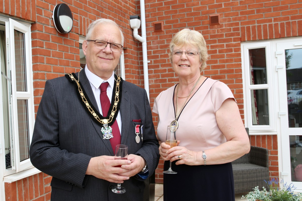 Mayor of Derby at Kiwi House Care Home