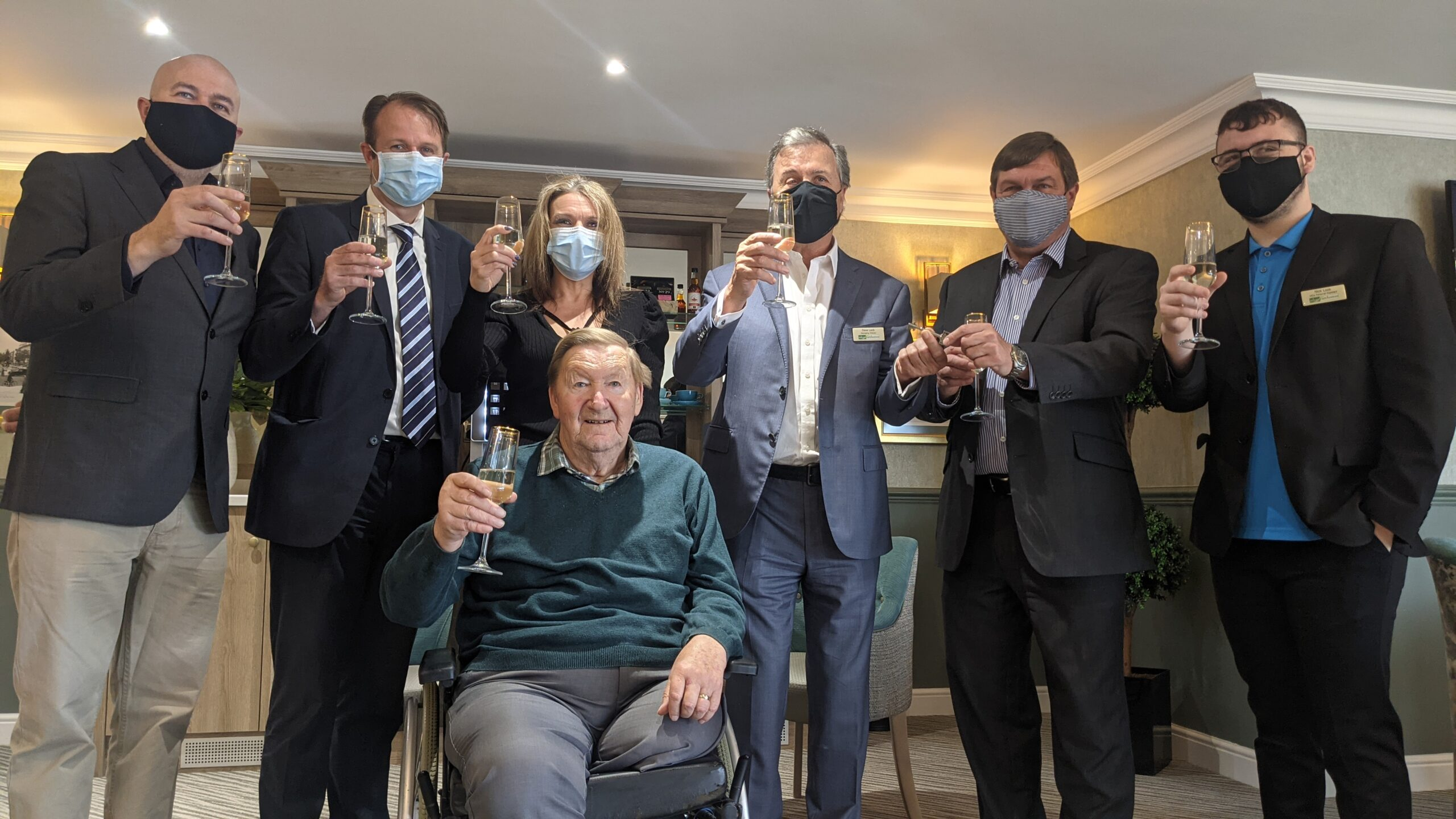 Keys to Luxury – Purpose-Built Harrier House Care Home Hand Over
