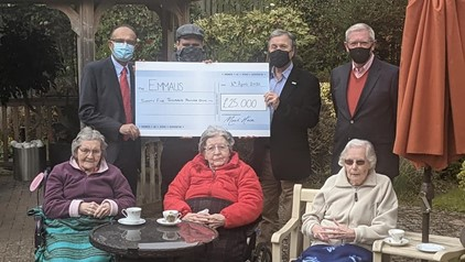 Moat House Care Home Helps Hinckley Based Homeless Charity