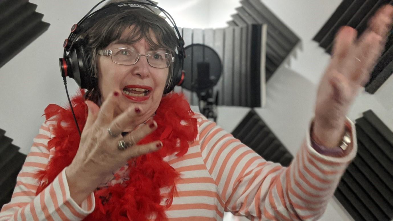 Judy Returns To The Studio.